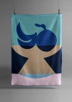 KUMI MOOD x bastsiRIKE | FRUTTI blanket (150x200cm) | コットンブランケット 送料無料 大判の商品画像