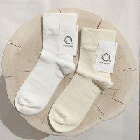 Cul de Sac (カルデサック) | クルーソックス (white) | 靴下 ソックス シンプルの商品画像
