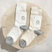 Cul de Sac (カルデサック) | ドレス軍足 (white) | 靴下 ソックス シンプルの商品画像