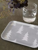 FINE LITTLE DAY   GRAN SMALL TRAY (GREY/WHITE)(TR-GRA2720-WG)   角トレイ小  北欧 スウェーデンの商品画像