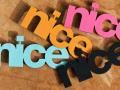 nicenicenice | NICE TYPO BROOCH | ブローチの商品画像