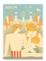 HUMAN EMPIRE | BERLIN POSTER #1  | ポスター (50x70cm)