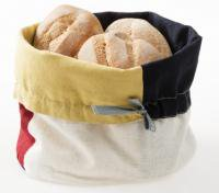 VERSO DESIGN | HAPPY KITCHEN BREAD BASKET | ブレッドバスケット (red/navy/yellow/white)