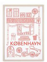HUMAN EMPIRE   COPENHAGEN POSTER   ポスター (50x70cm)の商品画像