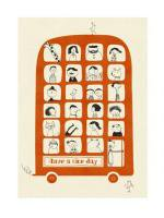 HUMAN EMPIRE   MAGIC BUS   ポスター (50x70cm)【北欧 インテリア リビング かわいい おしゃれ】の商品画像