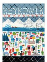 HUMAN EMPIRE   REYKJAVIK POSTER   ポスター (50x70cm)の商品画像