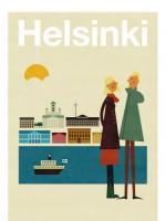 HUMAN EMPIRE   HELSINKI POSTER   ポスター (50x70cm)【北欧 リビング インテリア おしゃれ】の商品画像