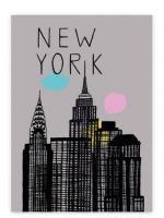 HUMAN EMPIRE   NEW YORK POSTER   ポスター (50x70cm)の商品画像