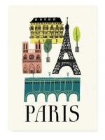 HUMAN EMPIRE   PARIS POSTER   ポスター (50x70cm)【北欧 インテリア リビング パリ おしゃれ】の商品画像