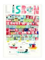 HUMAN EMPIRE   LISBON POSTER   ポスター (50x70cm)【北欧 リビング インテリア おしゃれ】の商品画像