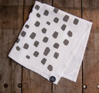 SUCH SWEET TIERNEY | SLATE DOTTED KITCHEN TOWEL | ティータオル