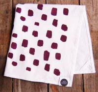 SUCH SWEET TIERNEY | BURGUNDY DOTTED KITCHEN TOWEL | ティータオル