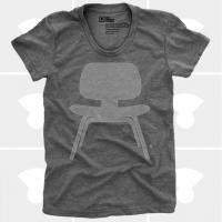 MEDIUM CONTROL | EAMES PLYWOOD CHAIR | Tシャツ (Heather Grey) | レディースMサイズ