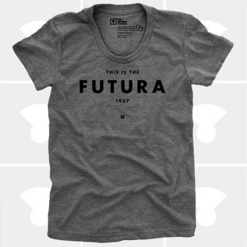 MEDIUM CONTROL | FUTURA | Tシャツ (Grey Heather) | レディースMサイズ