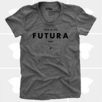 MEDIUM CONTROL | FUTURA | Tシャツ (Grey Heather) | レディースMサイズの商品画像