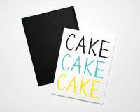 THE PAPER CUB CO. | CAKE CAKE CAKE BIRTHDAY | バースデー | グリーティングカード