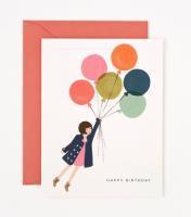 RIFLE PAPER CO. | FLY AWAY BIRTHDAY (GCB010) | バースデー | グリーティングカードの商品画像