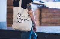 FIELDGUIDED | SLEEPY GOLDEN STORM (BLACK) | トートバッグ | TOTE BAG