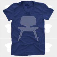 MEDIUM CONTROL | EAMES PLYWOOD CHAIR | Tシャツ (Navy Heather) | レディースMサイズ