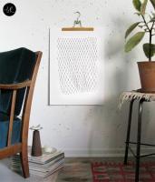 bastisRIKE | NETWORK POSTER | A2 ポスターの商品画像