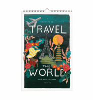 RIFLE PAPER CO. | 2015 TRAVEL POSTER CALENDAR  | カレンダー