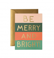 RIFLE PAPER CO. | BE MERRY & BRIGHT COLORS | クリスマス | グリーティングカード