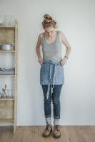 not PERFECT LINEN | LINEN CAFE APRON (washed natural) | エプロン