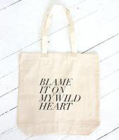 FIELDGUIDED | BLAME IT ON MY WILD HEART | トートバッグ | TOTE BAGの商品画像