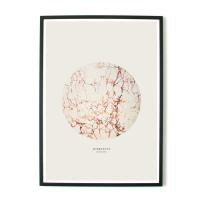 aboutgraphics | MARBLEOUS - CREAM | アートプリント/ポスター (50x70cm)