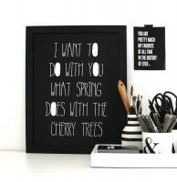 aboutgraphics   CHERRY TREES   アートプリント/ポスター (30x40cm)の商品画像