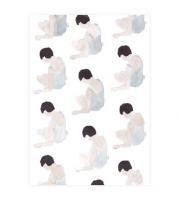 【ネコポス送料無料】CLARA SELINA BACH | WATER COLOR BATHING SUITS SITTING | A4 アートプリント/ポスターの商品画像