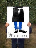 ANEK   BARISTA   アートプリント/ポスター (50x70cm)【北欧 カフェ レストラン インテリア おしゃれ】の商品画像