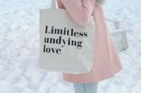 FIELDGUIDED | LIMITLESS LOVE TOTE (BLACK) | トートバッグ | TOTE BAG