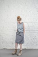 not PERFECT LINEN | LINEN SKIRT (graphite/dark grey)  | スカート | レディース UK8/S