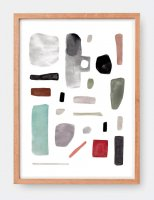CLARA SELINA BACH | CUTOUTCOLLECTION #1 | A3 アートプリント/ポスターの商品画像