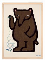 HUMAN EMPIRE   BEAR MALT POSTER   A3 ポスターの商品画像