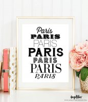 THE LOVE SHOP | PARIS, PARIS, PARIS | A4 アートプリント/ポスター