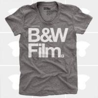 MEDIUM CONTROL | B&W FILM | Tシャツ (Heather Grey) | レディースSサイズ