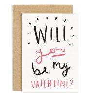 OLD ENGLISH CO.   BE MY VALENTINE'S DAY CARD   バレンタイン   グリーティングカードの商品画像