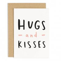 OLD ENGLISH CO. | HUGS AND KISSES CARD | グリーティングカード