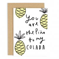 OLD ENGLISH CO.   PINA TO MY COLADA CARD   グリーティングカードの商品画像