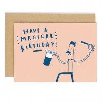 OLD ENGLISH CO.   MAGIC BIRTHDAY CARD   バースデー   グリーティングカードの商品画像
