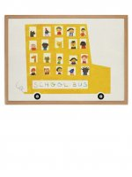 HUMAN EMPIRE | SCHOOL BUS POSTER | ポスター (50x70cm)