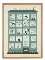 HUMAN EMPIRE   HAVE A NICE DAY POSTER   ポスター (50x70cm)の商品画像