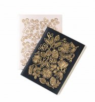 RIFLE PAPER CO. | GOLD FOIL POCKET NOTEBOOKS SET | ノートブック
