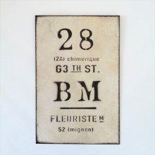 ビーエムプレートWH YZ-UN1198