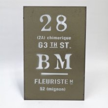 ビーエムプレートGR YZ-UN1199