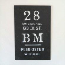 ビーエムプレートBK YZ-UN1200