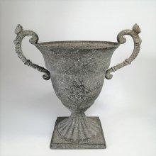アンティークグレーレリーフカップ CV-04-4540