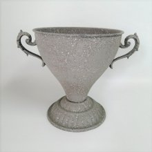 アンティークグレーカップ CV-04-4637